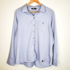The North Face Casual Long Sleeve Button Down Top